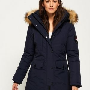 Superdry Ashley Everest Takki Laivastonsininen