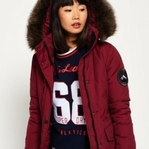 Superdry Ashley Everest Takki Punainen