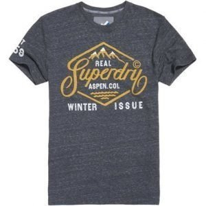 Superdry Aspen T-paita Harmaa