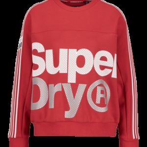 Superdry Athletico Crop Crew Collegepaita