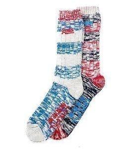 Superdry Big S Preppy Stripe Sock 2-pack Flag Navy/Blue