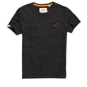 Superdry Brodeerattu Orange Label Vintage T-paita Harmaa