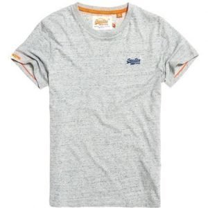 Superdry Brodeerattu Orange Label Vintage T-paita Sininen