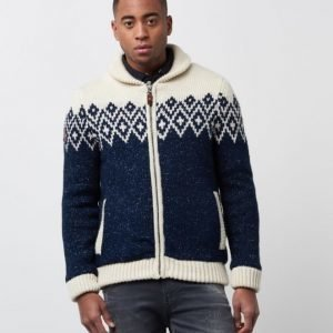 Superdry Buffalo Cardigan Navy Twist