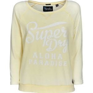 Superdry Burn Out Pastel Crew Paita