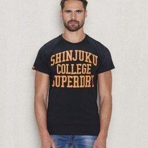 Superdry Campus Tee Black