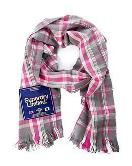 Superdry Capital Scarf Penelope Check