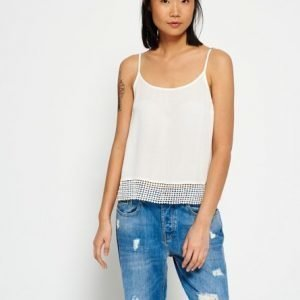 Superdry Castaway Lacy Camitoppi Norsunluu