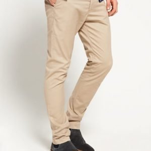 Superdry City Slim Chinohousut Beige