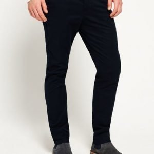 Superdry City Slim Chinohousut Laivastonsininen