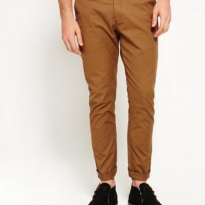 Superdry City Slim Chinohousut Ruskea