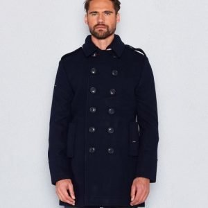 Superdry Classic Bridge Coat Navy
