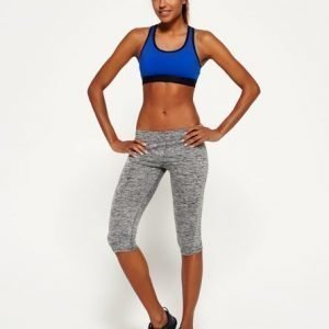Superdry Core Gym Caprileggingsit Vaaleanharmaa