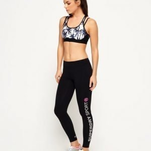 Superdry Core Gym Legginsit Musta
