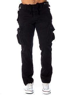 Superdry Core Heavy Cargo Pant Washed Black