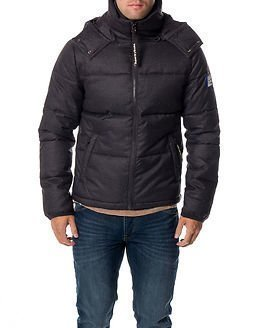 Superdry Decompression Puffer Dark Charcoal
