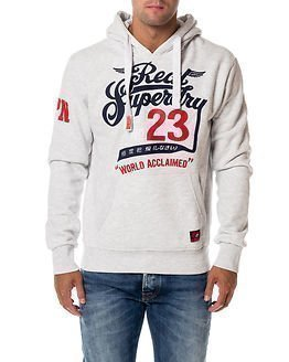 Superdry Double Drop Hood Ice Marl