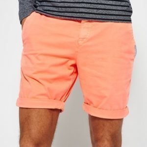Superdry International Hyper Pop Chinoshortsit Oranssi
