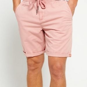 Superdry International Sun Scorched Chinoshortsit Vaaleanpunainen