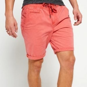 Superdry International Sunscorched Rantashortsit Punainen