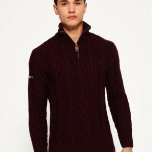 Superdry Jacob Henleyneule Purppura