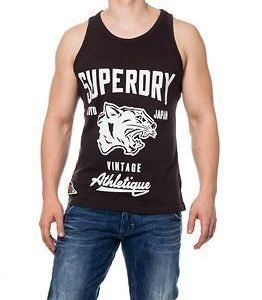 Superdry Mascots Vintage Athletique Bison Black