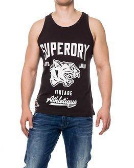 Superdry Mascots Vintage Athletique Bison Black