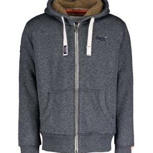 Superdry O L Heavy Winter Zip Collegetakki