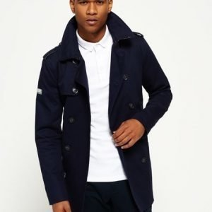 Superdry Remastered Rogue Trenssitakki Laivastonsininen