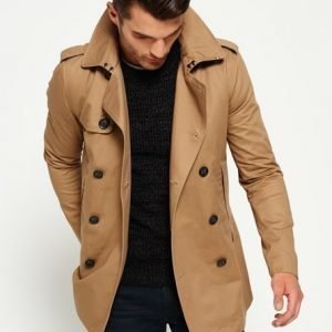 Superdry Remastered Rogue Trenssitakki Ruskea