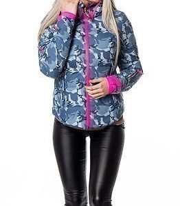 Superdry Snow Ski Command Utility Jacket Blue Ice Camo