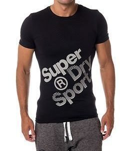 Superdry Sport Gym Base Sprint Runner Tee Black