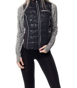 Superdry Sport Gym Quilted Gilet Black Camo