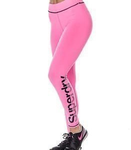Superdry Sport Gym Running-Legging Fluro Pink