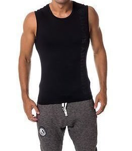Superdry Sport Gym Sport Runner Vest Black