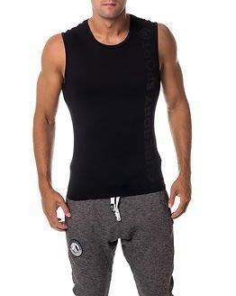 Superdry Sport Gym Sport Runner Vest Black