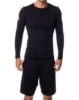 Superdry Sport Gym Sport Runners Top Black