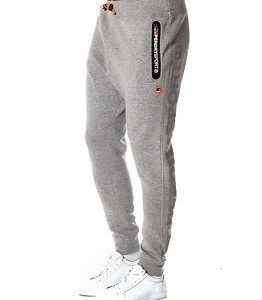 Superdry Sport Gym Tech Slim Jogger Grey Grit