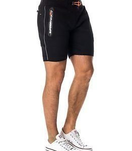 Superdry Sport Gym Tech Slim Short Black