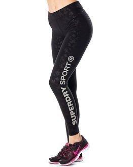 Superdry Sport Superdry Core Gym Legging Black Camo