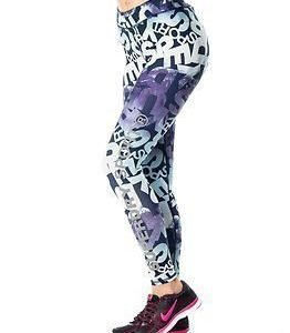 Superdry Sport Superdry Core Gym Legging Blue Mountain Logo