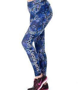 Superdry Sport Superdry Core Gym Legging Purple Python