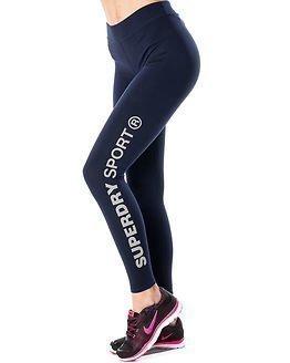 Superdry Sport Superdry Core Gym Legging Rich Navy