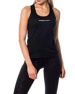 Superdry Sport Superdry Core Gym Vest Black