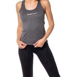 Superdry Sport Superdry Core Gym Vest Charcoal Grit