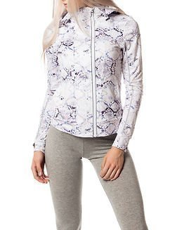 Superdry Sport Superdry Core Gym Ziphood White Python