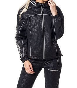 Superdry Sport Superdry Gym Running Jacket Black Camo