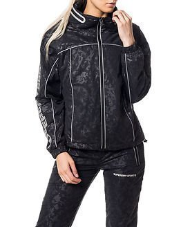 Superdry Sport Superdry Gym Running Jacket Black Camo