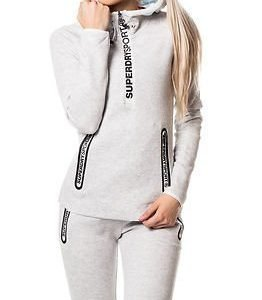 Superdry Sport Superdry Gym Tech Hood Ice Marl