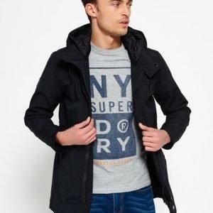 Superdry Surplus Goods Lite Anorakki Musta
